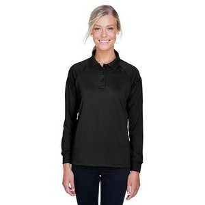 Harriton Ladies' Advantage Snag Protection Plus Long-Sleeve Tactical Polo