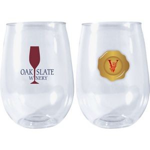 Stemless Portable Wine Glass