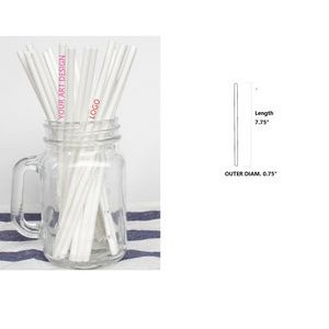 Customized Disposable Paper Drinking Straw