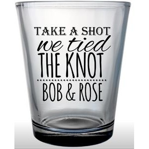 1.75 Oz. Custom Clear Shot Glass
