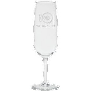 6.5 Oz. Flute Champagne Glass - Etched