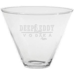 13.5 Oz. Stemless Martini Glass - Etched