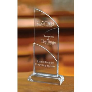 Large Intersect Crystal Award