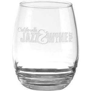 11 Oz. Eminence Stemless White Wine Glass - Etched