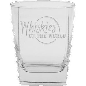 13 Oz. Sterling DOF Drinking Glass - Etched