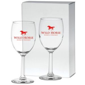 10 Oz. Napa Valley Goblet Gift Set