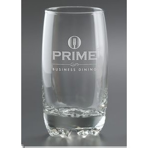 14 Oz. Galassia Beverage Drinking Glass - Etched