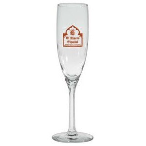 6 Oz. Domaine Clear Stem Flute Glass