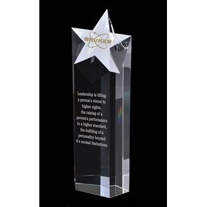 Maximum Superstar Optical Crystal Award