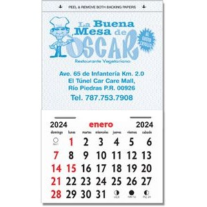 Kwik-Stik Grand Textured Vinyl Spanish Calendar