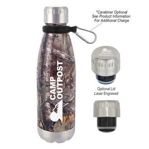 16 Oz. Realtree® Swiggy Stainless Steel Bottle