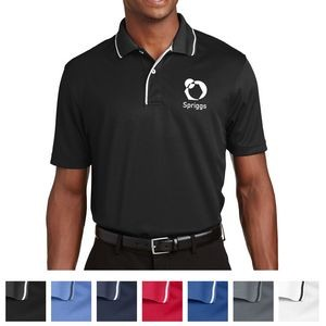Sport-Tek® Dri-Mesh® Polo with Tipped Collar and Piping