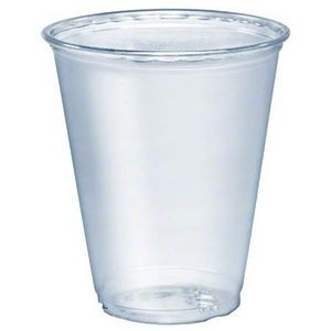 7 Oz. Tall Clear Plastic Soft-Flex Disposable Cup