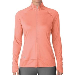Adidas� Women's Chalk Coral Rangewear Full Zip Jacket