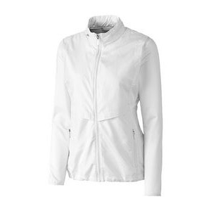 Cutter & Buck� Ladies' Ava Hybrid Full Zip Jacket