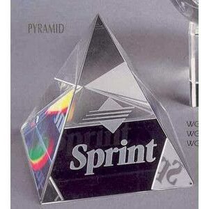 Crystal Awards / Crystal Pyramid Paperweights