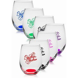9 Oz. Libbey® Stemless Wine Glasses