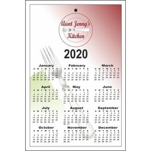 "8.5"" x 5.5"" Year-at-a-Glance Calendars"